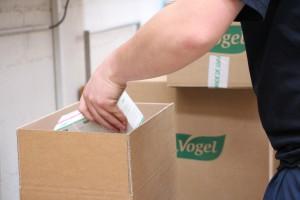 A.Vogel : Préparation d'une commande Bioforce
